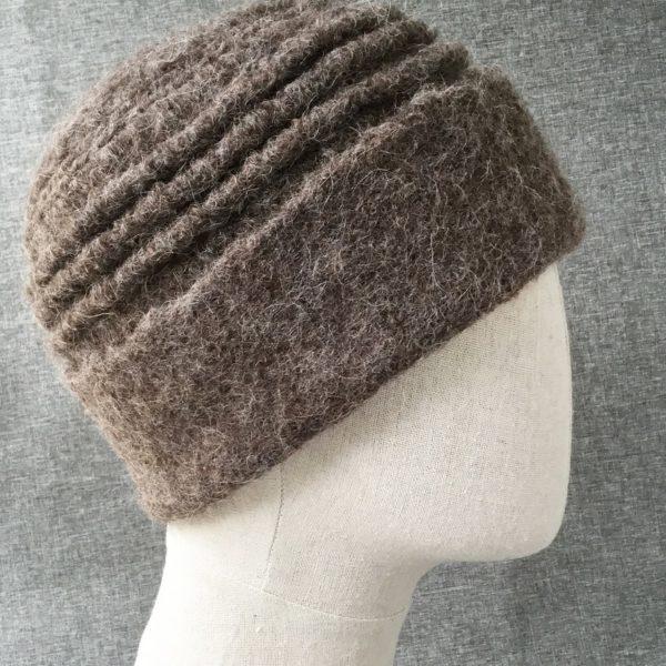 alpaca tucked hat