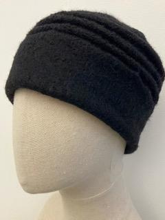 black alpaca hat