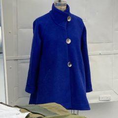 blue coat women