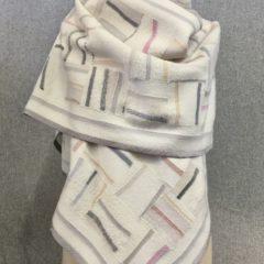 white pieced wrap